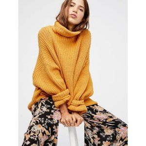 Free People Swim Too Deep Oversized Knit Pullover